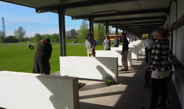 """Sportief Netwerken"" Golfclinic 11 april 2017"